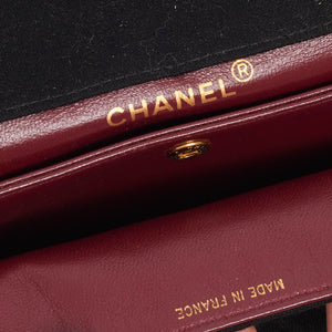 Vintage Chanel single jersey flap classic bag