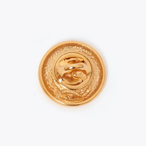 Vintage Chanel small CC pin
