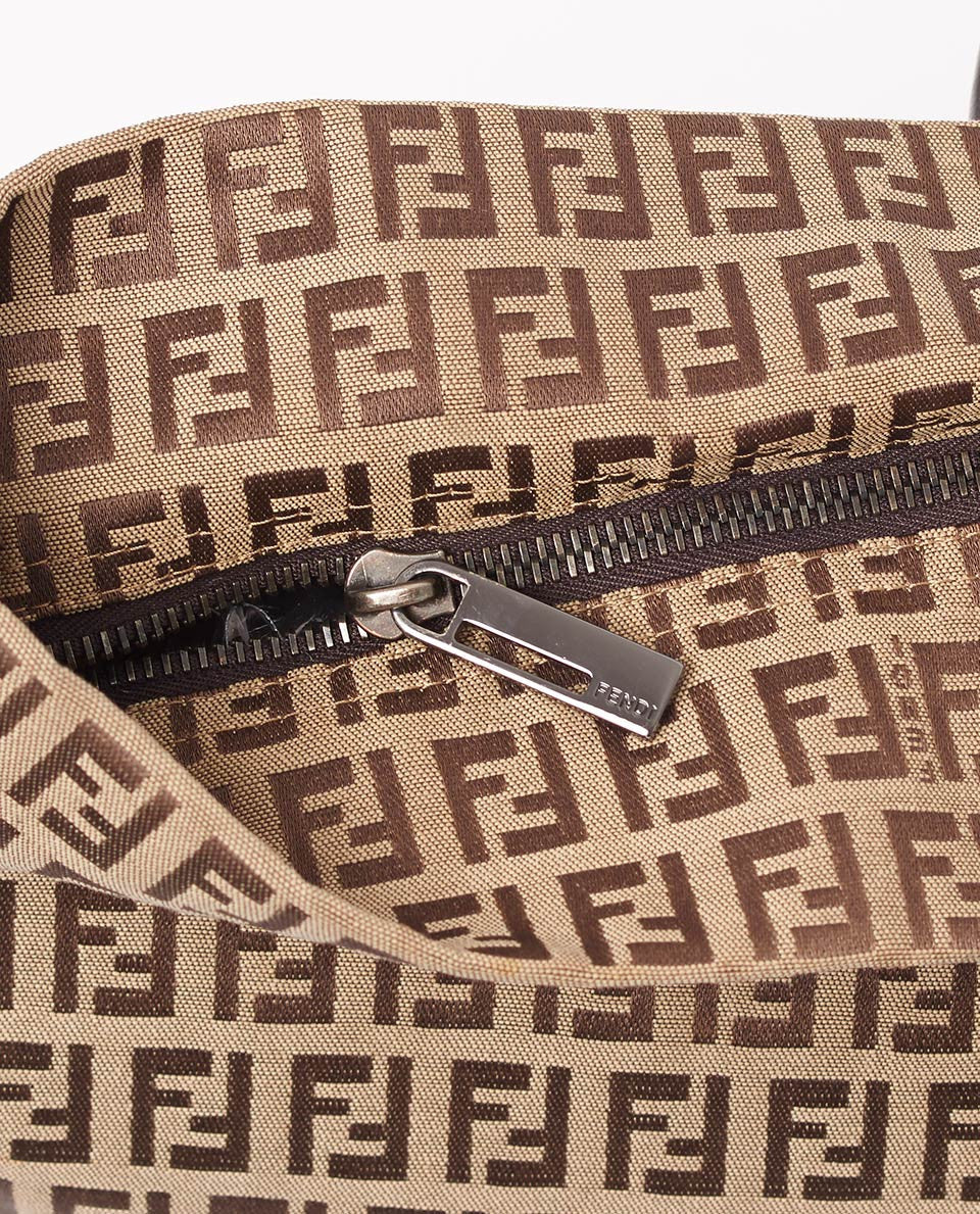 Vintage Fendi Zucchino shoulder bag