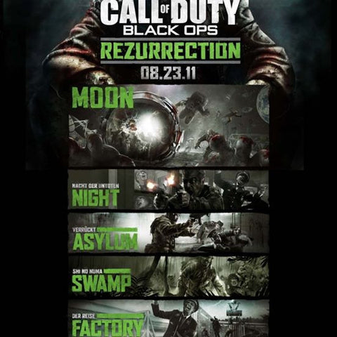 Call of Duty Black Ops Rezurrection Content Pack 4 | PS3 | SOLO DLC |