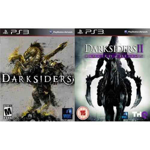 Darksiders + Darksiders II Ultimate Edition | PS3 | 16.7 GB | Juego Completo |