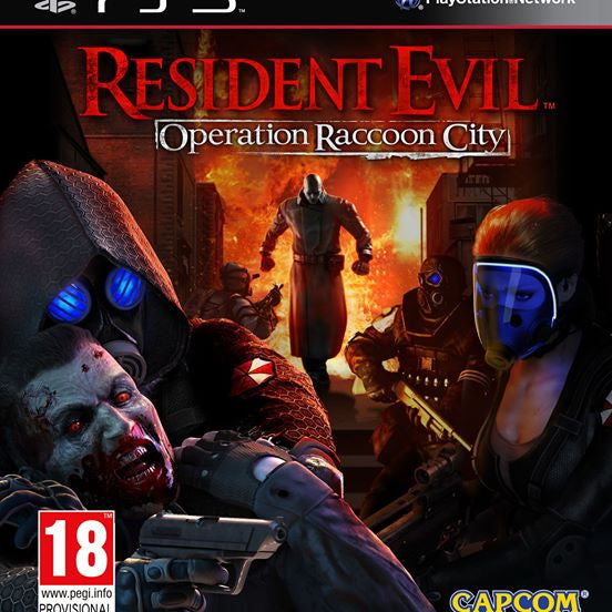 Resident Evil Operation Raccoon City | PS3 | 4.2 GB | Juego Completo |