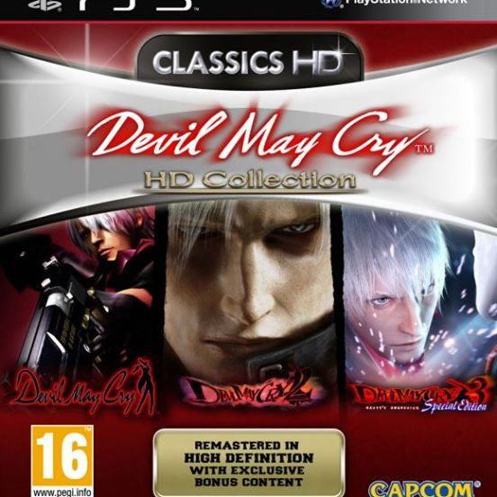 Devil May Cry HD Collection | PS3 | 10.4 GB | Juego Completo |