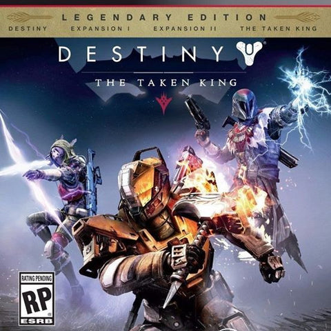 Destiny The Taken King Edicion Legendaria PS3 | 7.4 GB | Juego Completo |