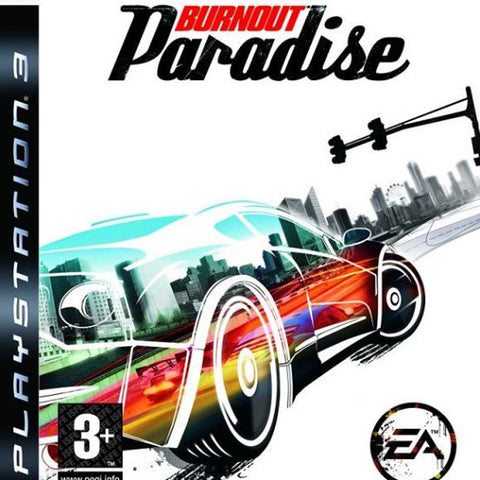 Burnout Paradise | PS3 | 3.2 GB | Juego Completo |