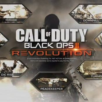 Call of Duty Black Ops II Revolution | PS3 | 1.8 GB | SOLO DLC |