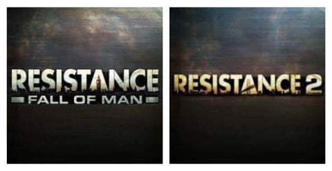 Resistance Fall of Man & Resistance 2 | PS3 | 40 GB | Juego Completo |