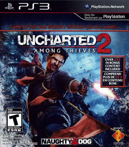 UNCHARTED 2 Among Thieves GOTY Edition | PS3 | 20.8 GB | Juego Completo |