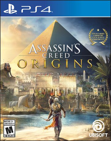 ASSASSINS CREED ORIGINS | PS4 | SECUNDARIA | JUEGO COMPLETO
