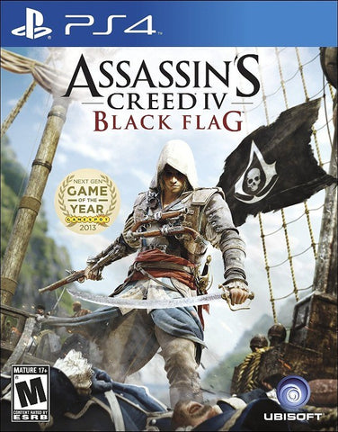 ASSASSINS CREED 4 BLACK FLAG| PS4 | 20.64 GB | PRINCIPAL