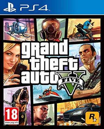 Grand theft Auto V | PS4 | PRINCIPAL | 44.86 GB | JUEGO COMPLETO