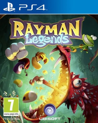 RAYMAN LEGENDS | PS4 | PRINCIPAL | 8.51 GB | JUEGO COMPLETO