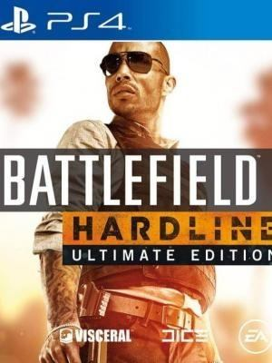 BATTLEFIELD HARDLINE ULTIMATE EDITION | PS4 | PRINCIPAL | 45.85 GB | JUEGO COMPLETO