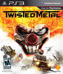 Twisted Metal | PS3 | 12.2 GB | Juego Completo |