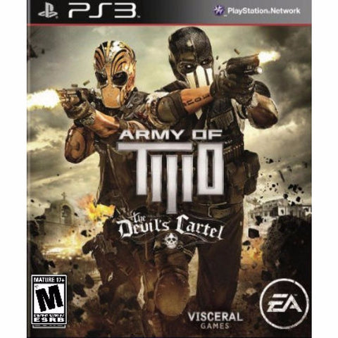 ARMY OF TWO THE DEVIL'S CARTEL | 6.98 GB | JUEGO COMPLETO | PS3