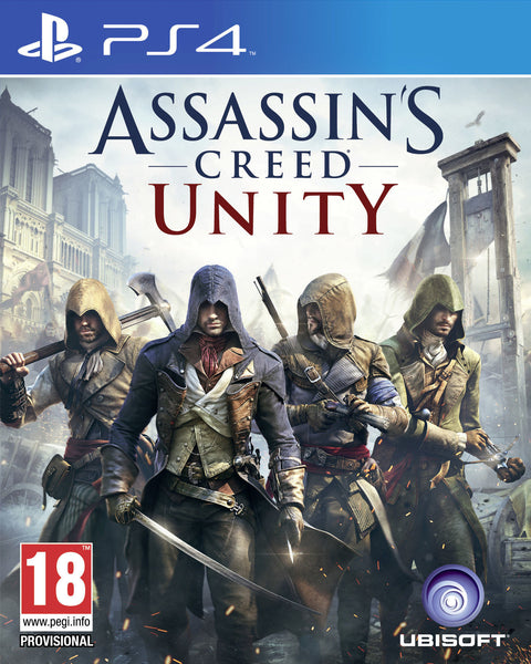 Assassin's Creed Unity  | PS4 | 1.1 GB | Juego Completo |