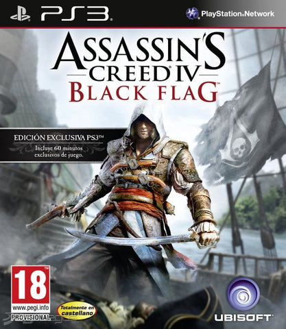 Assassin's Creed IV Black Flag | PS3 | 10.0 GB | Juego Completo |
