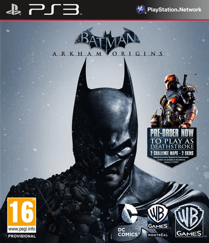 Batman Arkham Origins | PS3 | 14.2 GB | Juego Completo |