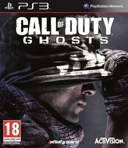 Call of Duty Ghosts NORMAL | PS3 | 12 GB | Juego Completo |