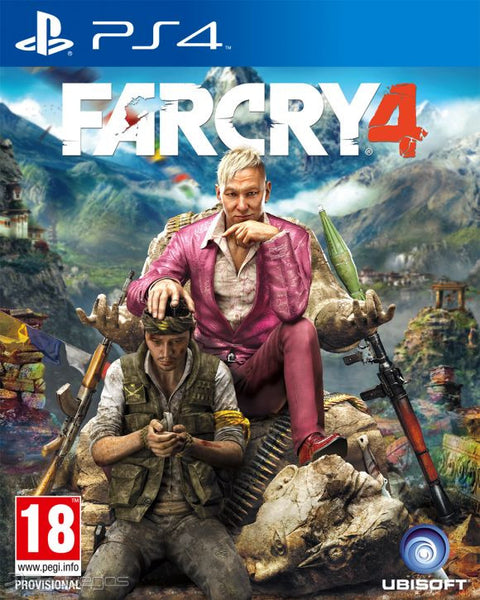Far Cry 4 | PS4 | 21.8 GB | Juego Completo |