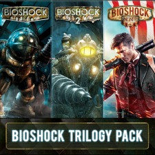 BIOSHOCK TRILOGY PACK | PS3 | 28.2 GB | Juego Completo |