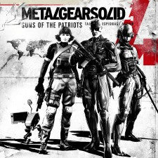 Metal Gear Solid 4: Guns of the Patriots | PS3 | 26.6GB | Juego completo |