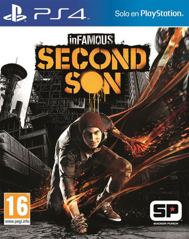 INFAMOUS SECOND SON | PS4 | SECUNDARIA | 21.5 GB | JUEGO COMPLETO
