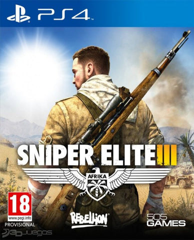 Sniper Elite 3 | PS4 | Juego Completo | 19.5 gb |