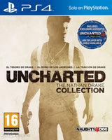 UNCHARTED THE NATHAN DRAKE COLLECTION | PS4 | PRINCIPAL | 43.45 GB | JUEGO COMPLETO