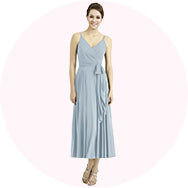 ankle length bridesmaid dresses