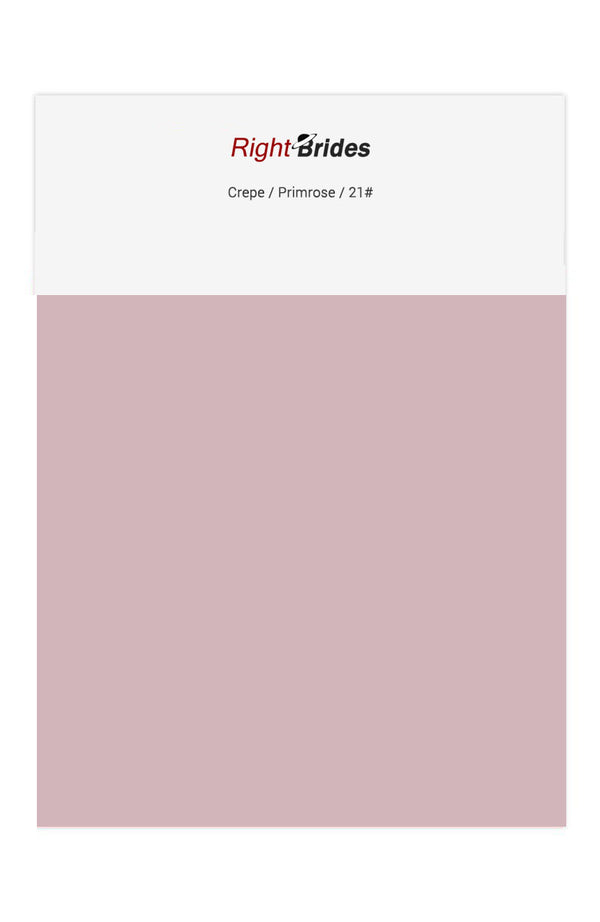 Primrose Color Swatches for Crepe Bridesmaid Dresses