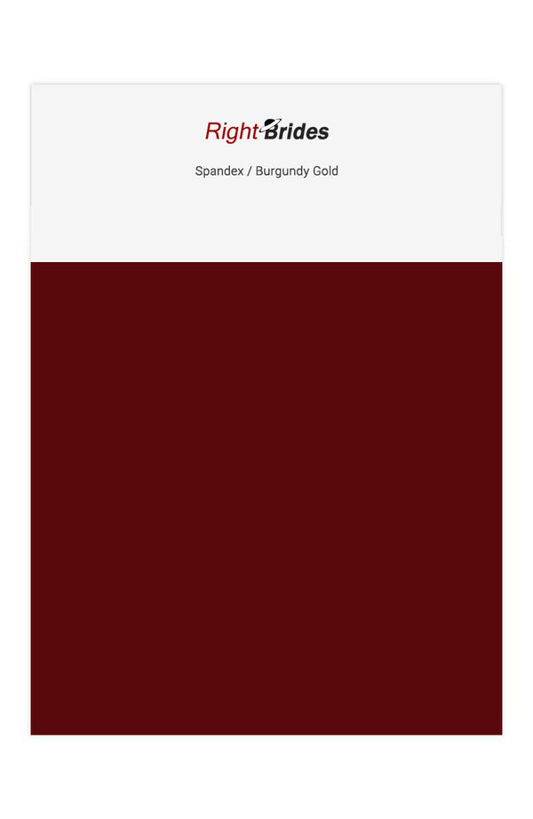 Royalty Color Swatches for Spandex Bridesmaid Dresses