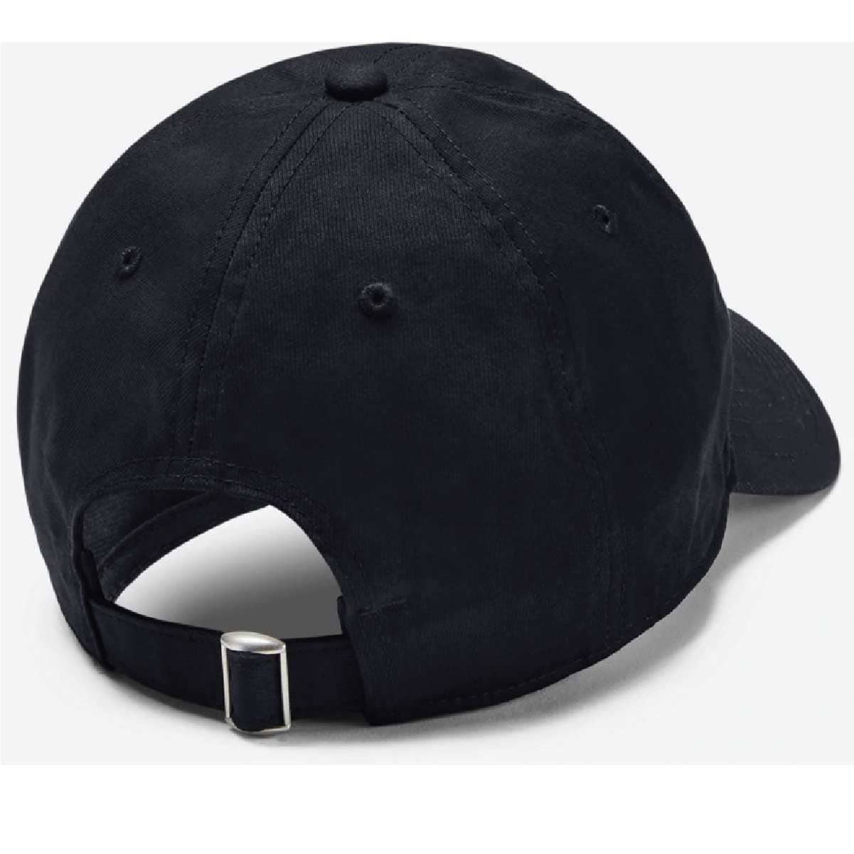 Black UA Chino Adjustable Cap