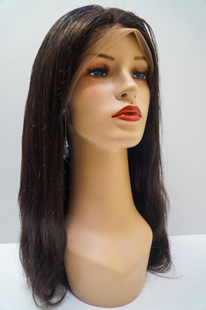 Virgin Cuticle Straight - Lace Front Wig