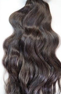 Virgin Indian Remy slight wavy! - Hair extension bundle