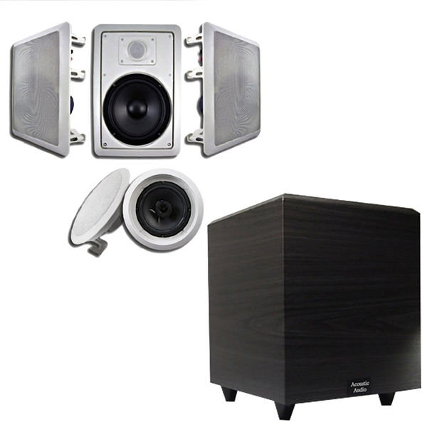 Acoustic Audio Ht 65 In Wall_Ceiling 5.1 Home Theater