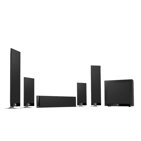 Kef T205 5.1 Home Theater System Black