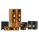 Klipsch Rf 7 Ii Reference Series 7.1 Home Theater System With Sw 450 Subwoofer Cherry