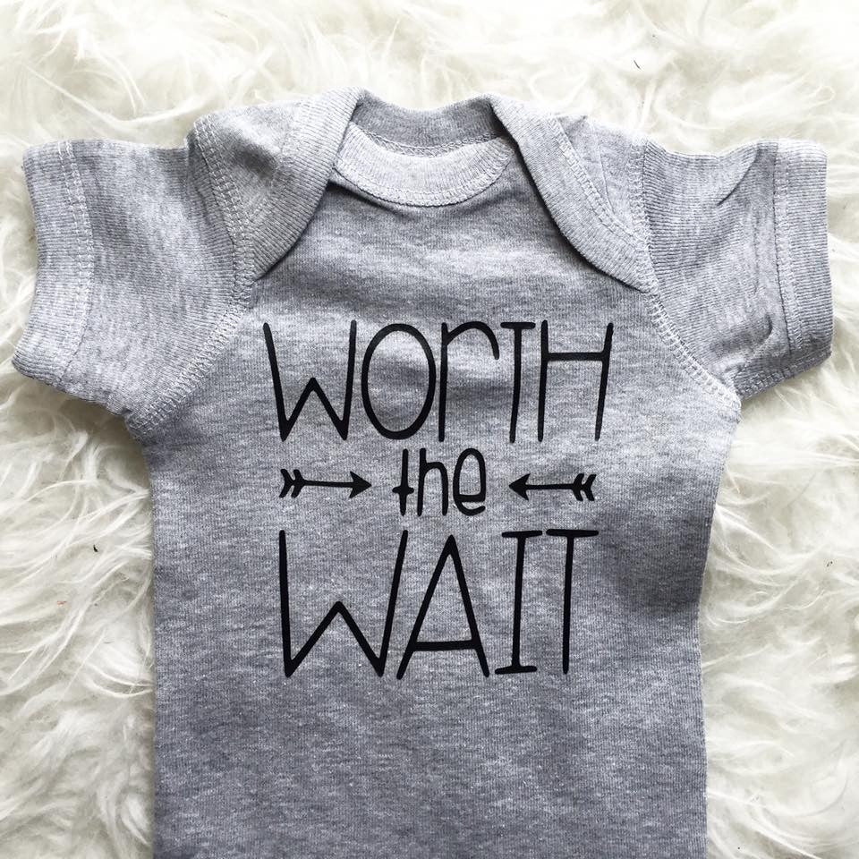 Worth The Wait Bodysuit Toddler Tee