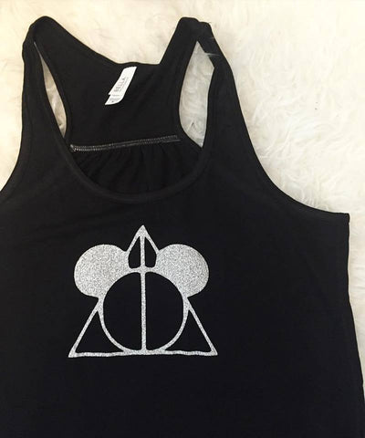 Mickey Deathly Hallow Tank Top