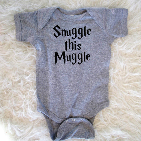 Snuggle This Muggle, Harry Potter Bodysuit Toddler Tee