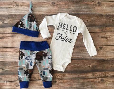 Little Dreamer Coming Home Outfit