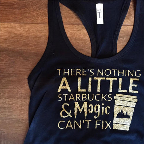 Magic and Starbucks Tank Top