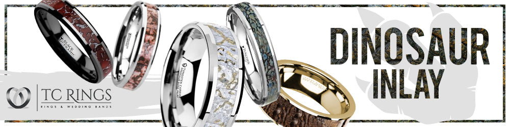 Dinosaur Bone Collection Wedding Bands & Rings