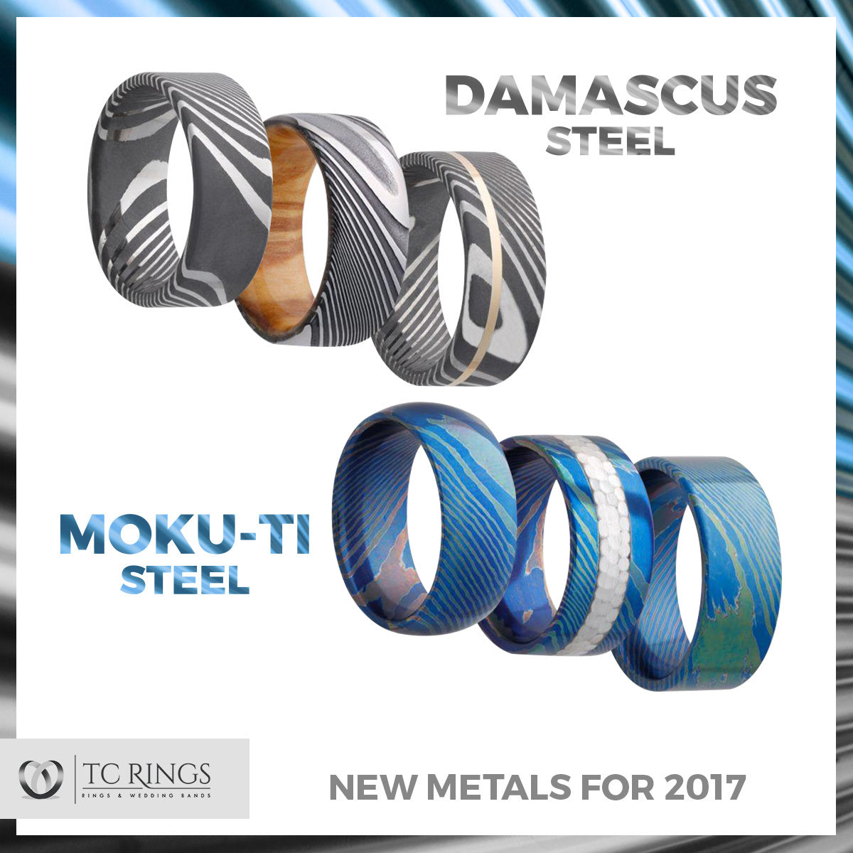 New Metals in 2017 — Moku-Ti & Damascus Steel