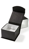 Black & white wedding ring box