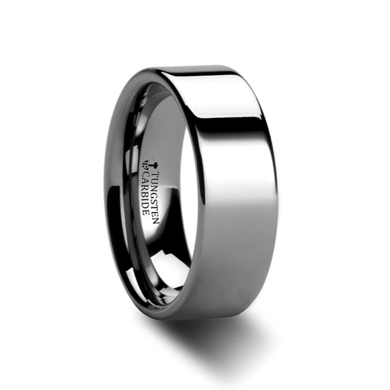 Tungsten Carbide Wedding Ring | Couple's 8mm, 10mm & 12mm