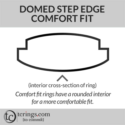 Domed Step Edge Comfort Fit Profile
