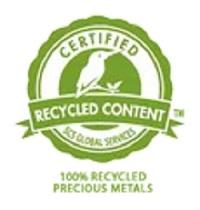 Certified Recycled Content Label