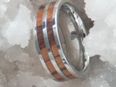 Cobalt Wedding Band Men's